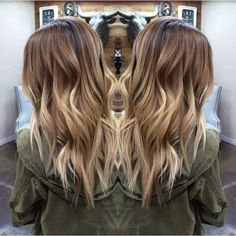 Long Choppy Haircut With Blonde Balayage