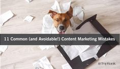 Maximize content marketing creation and amplification by avoiding these common…