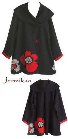 Kati Koos ~ January 2009 Newsletter  Jermikko - black coat
