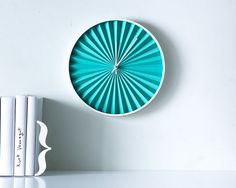 Wall clock Harmonica por DesignAtelierArticle en Etsy