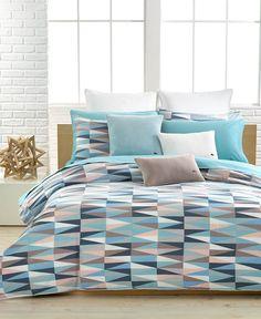 Closeout! Lacoste Malmi Twin Comforter Set
