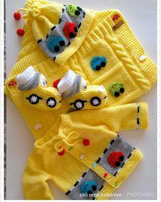 Pawl Knitting pattern by cute-n-cuddly-designs Baby Boy Knitting Patterns, Baby Sweater Knitting Pattern, Knitted Baby Cardigan, Knitting For Kids, Crochet For Kids, Baby Patterns, Crochet Patterns, Crochet Baby Clothes Boy, Baby Girl Sweaters