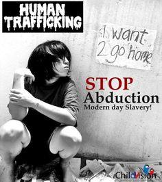 Stop Human Trafficking !  #ENDviolence
