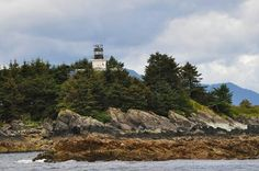 Guard Island Lighthouse, Ketchikan, Alaska