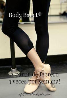A pedido de las alumnas de los días lunes (y de futuras alumnas que lo solicitan) a partir de febrero, los miércoles de 20 a 21 horas se abre un nuevo grupo de Body Ballet® en Barcelona. Nivel iniciación & reciclaje.