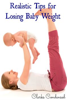 It took time to gain it...so now it's going to take time to lose it. Here are some realistic tips and ideas for losing baby weight.