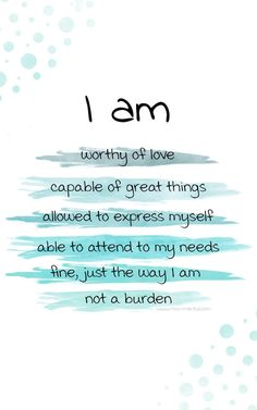 Anxiety affirmations with free printables