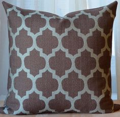Moroccan Pillow Cover - inspiration for knitting pattern