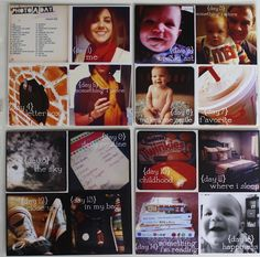 incorporating photo challenges in project life 12x12  page protectors with 4 6x6 spaces