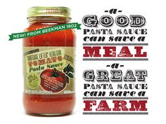 The @Brent & Josh Beekman Boys first item for their cause! ''Morgage Lifter'' Heirloom Tomato Pasta Sauce is here! Check out their website for more details.