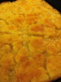 Granny's #Peach Cobbler recipe