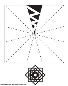 Printable Snowflake Template - wikiHow