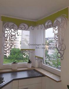 Curtain Design – our work Luxury Curtains, Cool Curtains, Beautiful Curtains, Curtains With Blinds, Kitchen Curtain Designs, Curtains Childrens Room, Unique Window Treatments, Home Interior Design, Interior Decorating