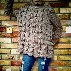 YuMo Knitting. Tangerine Slices Pattern Knitting Рullover. Пуловер спицами Мандариновые Дольки, сп. № 5. Fur Coat, Selfie, Jackets, Fashion, Tejidos, Moda, Fashion Styles, Fur Coats, Fashion Illustrations