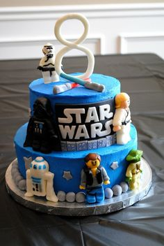 So, Andy has already decided he wants a Lego Star Wars birthday party this year... That gives me 6 months to come up with amazing ideas and low cost DIY goodie bags! I'm on it!