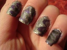 Water Marble nail art manicure tutorial! How to Step by step guide to marbling your nails with any nail polish!