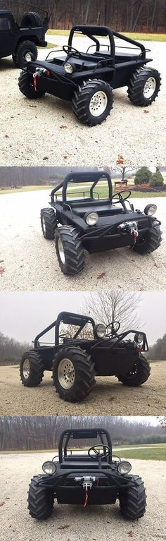 Power Sports ATVs UTVs: Coot Utv Atv 4 Wheel Steer New Engine Completely Upgraded Restore Amphibious BUY IT NOW ONLY: $6800.0