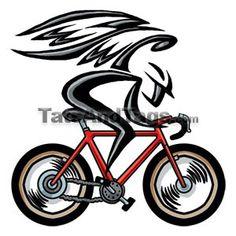 Angel On Bike Tattoo Design - Tattoo Ideas