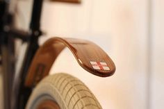 Wood Bike Fender.