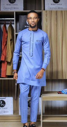 - African suit/African men's clothing/African men's dashiki/African fabric/Prom dress/African attire/A Source by etsy - African Male Suits, African Wear Styles For Men, African Shirts For Men, African Dresses Men, African Attire For Men, African Clothing For Men, African Outfits, Nigerian Men Fashion, African Men Fashion