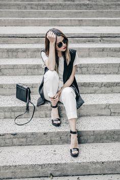 #FashionBySIMAN & Our Favorite Style: Un look minimalista ideal para la oficina usando como base el blanco y el negro