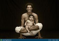 "#Yoga Poses Around the World: ""Lotus Pose taken in Doha, Qatar by Zin W."""