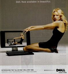 This ad is for the tv, the women in the picture is very skinny and long. The ad also has written the word beautiful, this is not just saying the the new tv can now be seen in beautiful but that the model in the picture is beautiful. The model is very skinny and the ad also shows that to be beautiful women must be skinny and slim.