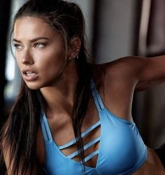 Adriana Lima, We Heart It, Find Image, Bikinis, Swimwear, Thong Bikini, One Piece, Pretty, Women