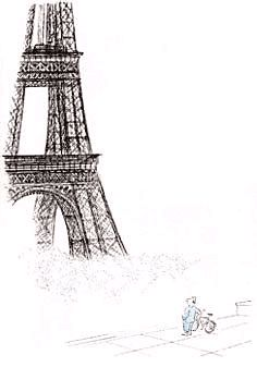 Paris par Jean-Jacques Sempe - illustrateur