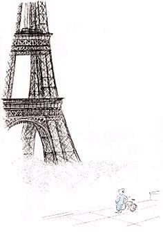 Paris par Jean-Jacques Sempe - illustrateur