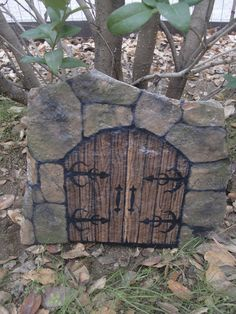Rock - Fairy Door