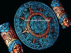 Aztec Calendar Latin American Mask Head Maya Mayan Mexico Wall Plaque Decor Art    eBay