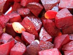 Rote Beete vom Blech.