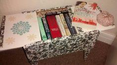 Decoupage sewing box!