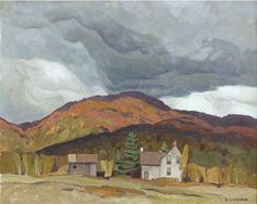 """Farm at Birds Creek,"" A.J. Casson, 1965, oil on panel, 12 x 15"", private collection."