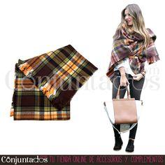 Queridos Reyes Magos: Podéis traerme una de las preciosas bufandas grandes de Conjuntados ¡Me encantan todas! ★ desde 12,95 € en https://www.conjuntados.com/es/fulares/bufandas.html ★ #novedades #foulard #fulares #bufanda #bufandamanta #conjuntados #conjuntada #accesorios #complementos #moda #fashion #fashionadicct #picoftheday #outfit #estilo #style #GustosParaTodas #ParaTodosLosGustos