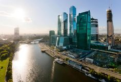 Moscow's Futuristic Skyline -   Mother Russia is no longer just Old Russia: the capital city boasts world-renowned architecture from the iconic St. Basil's Cathedral to its modern skyscrapers.