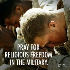 They fight for our freedom of religion yet theirs is being squashed.
