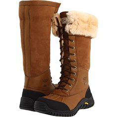 UGG Adirondack Tall Women's Cold Weather Boots - Brown