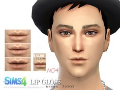 The Sims Resource: Lipstick M04 by S-Club • Sims 4 Downloads