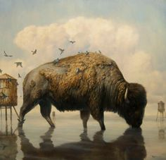 Surrealismo animal de Martin Wittfooth
