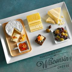 "Maybe this will help spring get a start? A ""Welcome Spring"" cheese board!"