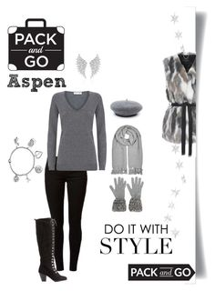 """Pack & Go: Winter Fashion ❄️️✨❄️Aspen ❄️✨❄️️"" by campanellinoo on Polyvore featuring Livingly, Jane Norman, Dorothy Perkins, Damsel in a Dress, Mark & Maddux, Chanel, Eileen Fisher, Messika and Love This Life"