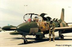 South African Air Force Impala Mk2