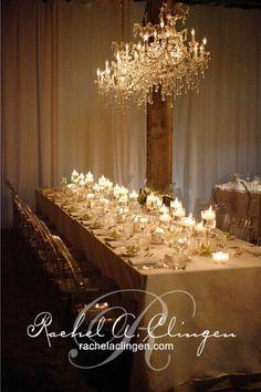Intimately romantic gold wedding reception; Via Rachel A. Clingen Wedding & Event Design