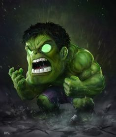 Hulk on Behance