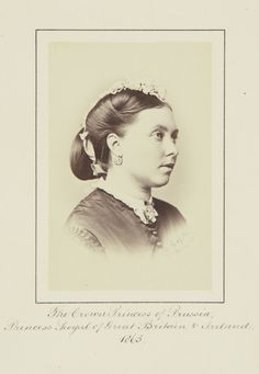 Victoria, Crown Princess of Prussia, 1865 [in Portraits of Royal Children Vol.8 1864-1865] | Royal Collection Trust