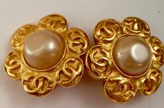 A personal favorite from my Etsy shop https://www.etsy.com/listing/224466784/chanel-vintage-gold-clip-on-earrings