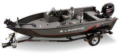 16 XTR S – Legend Boats Aluminum Fishing Boats, Small Fishing Boats, Aluminum Boat, Small Boats, Wooden Boat Plans, Wooden Boats, Speed Boats, Power Boats, Fish And Ski Boats