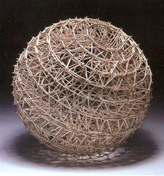 Stephen Talasnik -Like drawing, the sculptures depend on open articulation of form, airy shapes, transparency of structure.
